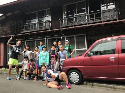 所沢マラソン会合宿in檜原村