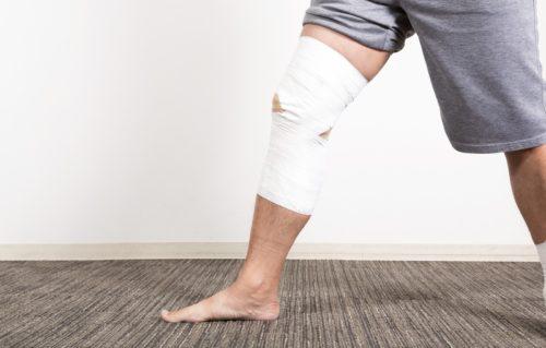 スポーツ・ランニングでの膝痛テーピング